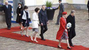 Pohjoismaiden valtionpäämiehet vierailevat Helsingissä.