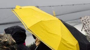 Keltainen sateenvarjo