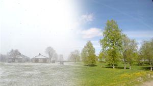 Talvi ja kesä Lappeenrannan Linnoituksessa
