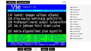 Teksti-tv:n sivu