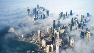 Ilmakuva Dohasta.