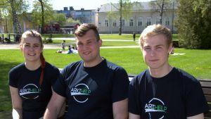 ARKIHELP Joensuusta eli Kiira, Antti ja Antti