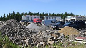 Raknetamista Tampereen Vuoreksessa