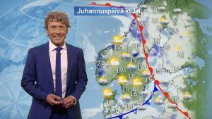 SVT:n meteorologi Pererik Åberg.
