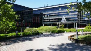 Entinen Nokian kampus Salossa.