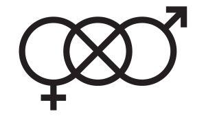 Unisex-symboli.