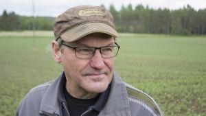 Maanviljelijä Jouko Laukkanen.