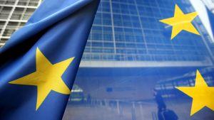 EU:n lippu Brysselissä