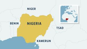 Kartta Nigeriasta