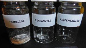 Tullin havainnekuva tappavasta määrästä karfentaniilia.