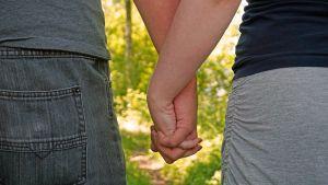 Parisuhde rakkaus pariskunta
