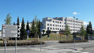 Rauman aluesairaala rakennus sairaala