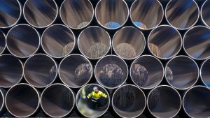 Nord Stream -kaasuputkia Saksassa.