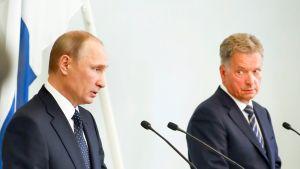 Niinistö ja Putin