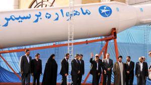 Simorgh -satelliittien kantoraketti esiteltiin ensimmäistä kertaa vuonna 2010.