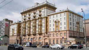 Yhdysvaltain lähetystö Moskovassa.
