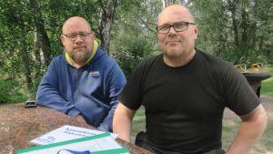 Kymijoki, kalastus, valvojat, Miika Neuvonen, Jarmo Salo