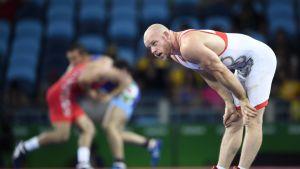 Rami Hietaniemi Rion olympialaisissa.