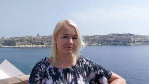 Maria Ruokojärvi Maltalla