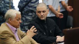 Sergei Udaltsov oikeudenkäynnissään