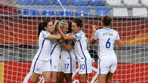 Naisten Englannin joukkue