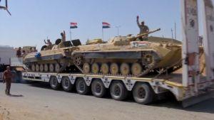 tankit menossa rintamalle