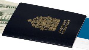 Kanadan passi.