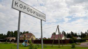 Datsakylä Venäjän Karjalassa.