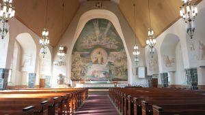 Rovaniemen kirkko kirkkosali