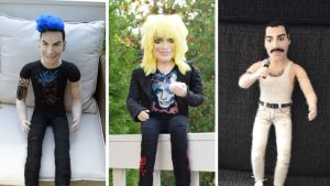 Huovutettuja nukkeja