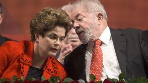 Dilma Rousseff ja Luiz Inacio Lula da Silva.