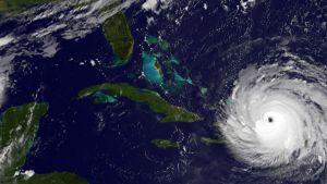 Hurrikaani Irma satelliittikuvassa 7. syyskuuta.