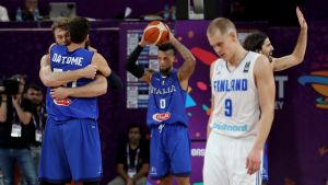 Italia Suomi EM koripallo