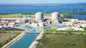 St. Lucien ydinvoimala Hutchinson Islandilla Floridassa.