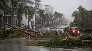 Kuvaa Miami Beachin alueelta Floridasta 10. syyskuuta.