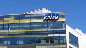 KPMG:n toimital, Helsinki Töölö, rautatieaseman vieressä.