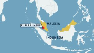 Malesian kartta