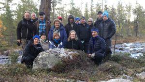 Lapin ELY-keskus, Metsähallitus, Saamelaiskäräjät ja ympäristöministeriö kokoontuivat luonnonsuojelukäräjille Sevettijärvelle.