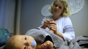 vyöhyketerapeuttinen vauvahieronta malmi helsinki