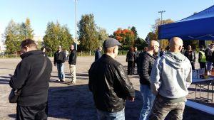 Mielenilmaus järjestettiin Alahärmän urheilukentällä.