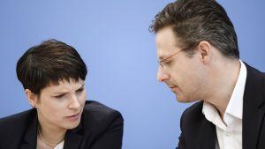 Frauke Petry ja Marcus Pretzell.