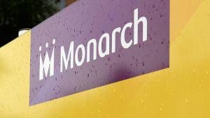 Monarch Airlines -lentoyhtiön logo.