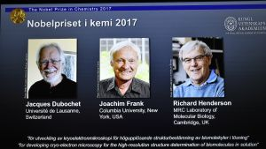 Kemian Nobel-palkinnot jaettiin tänä vuonna kolmen tutkijan kesken.