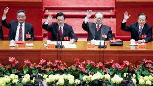 Vuoden 2012 puoluekokous Kiinan pekingissä.