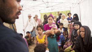 Sairaala Bangladeshissä.