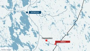 Kartta Tohmajärvi