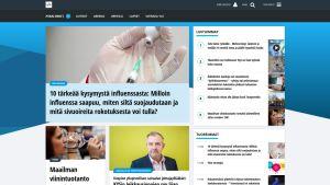 Kuvakaappaus yle.fi-sivusta.