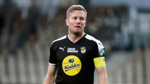 Sebastian Sorsa KuPSin paidassa.