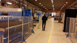 Parikymmentätuhatta neliötä lämmintä tuotanto- ja toimistotilaa vapautuu Kauhavalla runsaan vuoden kuluttua.