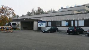 Forssan sairaala ulkoa kuvattuna